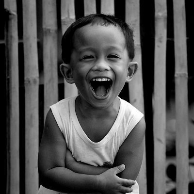 Child-laughing